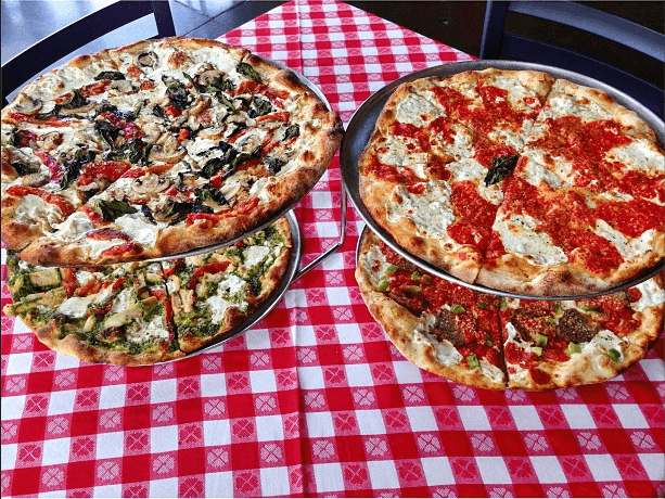 Lower East Side Delancey Pizza and Table Cloth 212